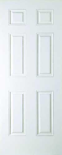 Arlington 6 Panel Smooth White