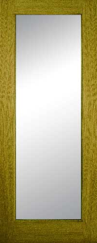 Contract Oak 1 Lite – Frosted Glass