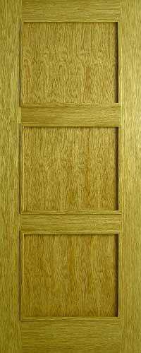 Oak 3 Panel