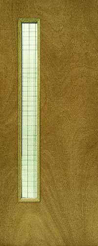 Plywood Fire Door FD60 – Glass ope – GW06