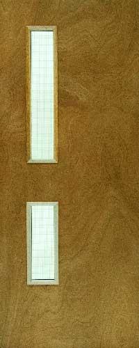 Plywood Fire Door FD30 – Glass ope – GW05